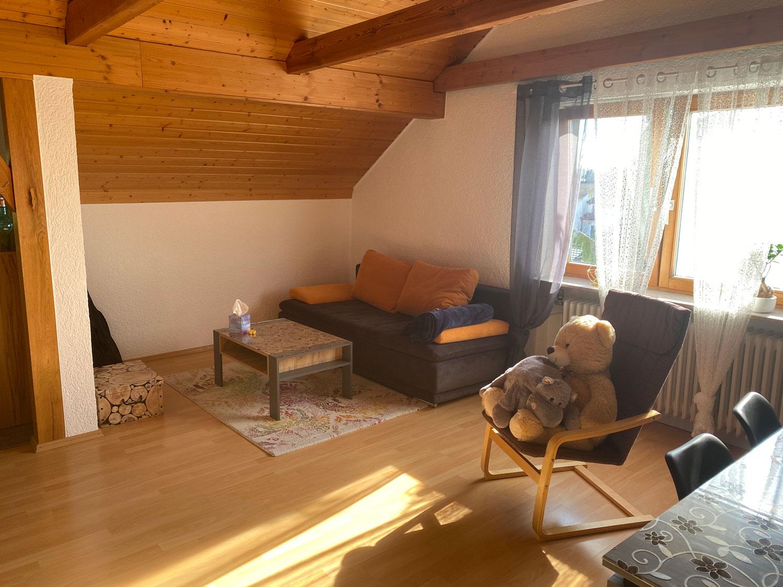 blueimmo Nadine Schäfer - 2-Zimmerwohnung in Jockgrim - Wohnzimmer